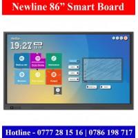 """Newline TT8618RS 86"""" Ultra-HD Smart Boards Sale Colombo, Sri Lanka"""
