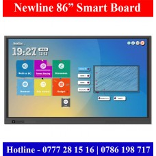 "Newline TT8618RS 86"" Ultra-HD Smart Boards Sale Colombo, Sri Lanka"