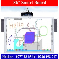 86 inch Smart boards for Smart Classroom price in Sri Lanka