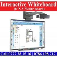 8X5 Interactive Whiteboards for sale. Interactive Whiteboard suppliers Sri Lanka