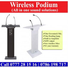 Wireless Podiums suppliers in Sri Lanka. Smart Podiums for sale Sri Lanka