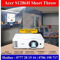 Acer S1286H Short Throw Projectors Sri Lanka for Smart Classroom